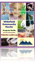 Widefield Community Center Fall 2011 - Spring 2012 Program Guide