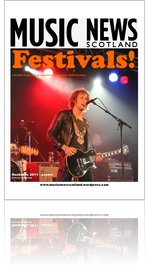 MUSIC NEWS Scotland 'FESTIVALS!' supplement