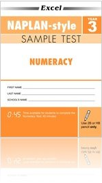 Year 3 Excel NAPLAN*-style Numeracy Sample Test