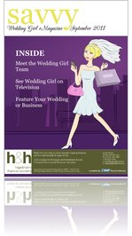 Savvy Wedding Girl eMagazine September 2011
