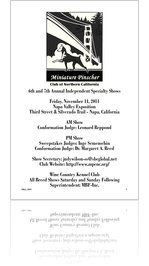 Pinscher Patter Fall 2011; Volume 14; Number 3