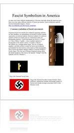 Fascist Symbolism in America 1