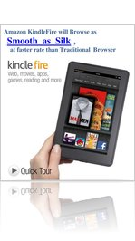Amazon Kindlefire Browse as Smooth as Silk