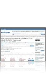 www.uppsc.org.in | UPPSC RO/ARO Main Exam Admit Card 2010 | uppsc.org.in