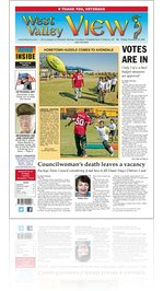 West Valley View : Vol. 26, Issue No. 061: Friday, November 11, 2011