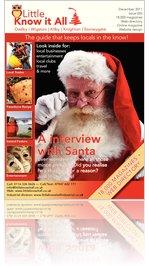 Little Know It All December Magazine