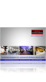 MDA e-Brochure - Catering Advice and Kitchen and Bar Design
