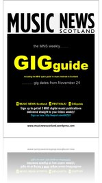 GIGguide from MUSIC NEWS Scotland
