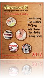 Janns Netcraft 2012 Fishing Tackle Catalog