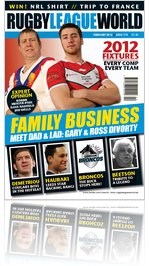 Rugby League World - Feb 2012