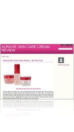 Auravie Skin Care Cream