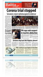 Balita Midweek Edition Los Angeles January 18, 2012