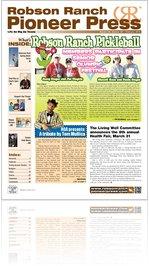 Robson Ranch Pioneer Press - February 2012