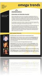 2012 Omega Trends Scholarship / Fellowship edition