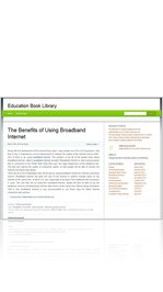 The Benefits of Using Broadband Internet