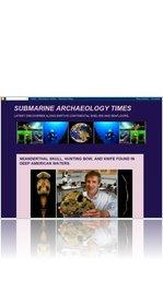 (1.) NORTH AMERICAN NEANDERTHAL.  (SubmarineArchaeologyTimes.blogspot.com)