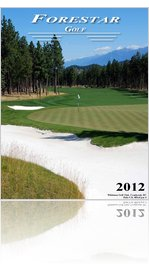 Forestar Golf Sales 2012 Catalogue