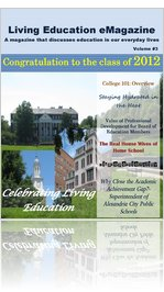 Living Education eMagazine Volume #3 Summer 2012