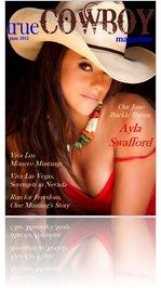 trueCOWBOYmagazine June 2012 Ayla Swafford