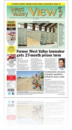 West Valley View : Vol. 27, Issue No. 017: Friday, June 8, 2012