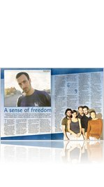 Brighton Argus interview with Hofesh Shechter