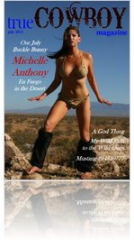 trueCOWBOYmagazine July 2012 Michelle Anthony
