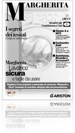 Read libretto istruzioni lavatrice ariston lbe6 x online for Istruzioni caldaia ariston