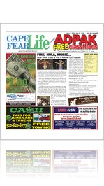 7.25.12 Cape Fear Life featuring AdPak Free Classifieds