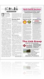 AUGUST 2012 BUSINESS SECTION NORTH CENTRAL NEWS