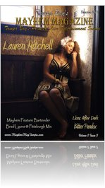 December 2012 Tampa Bay's Mayhem Magazine