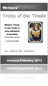 JAN-FEB 2013 WRITERS' TRICKS OF THE TRADE EZINE