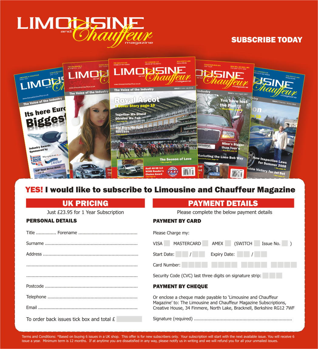 read limousine and chauffeur magazine subscription online