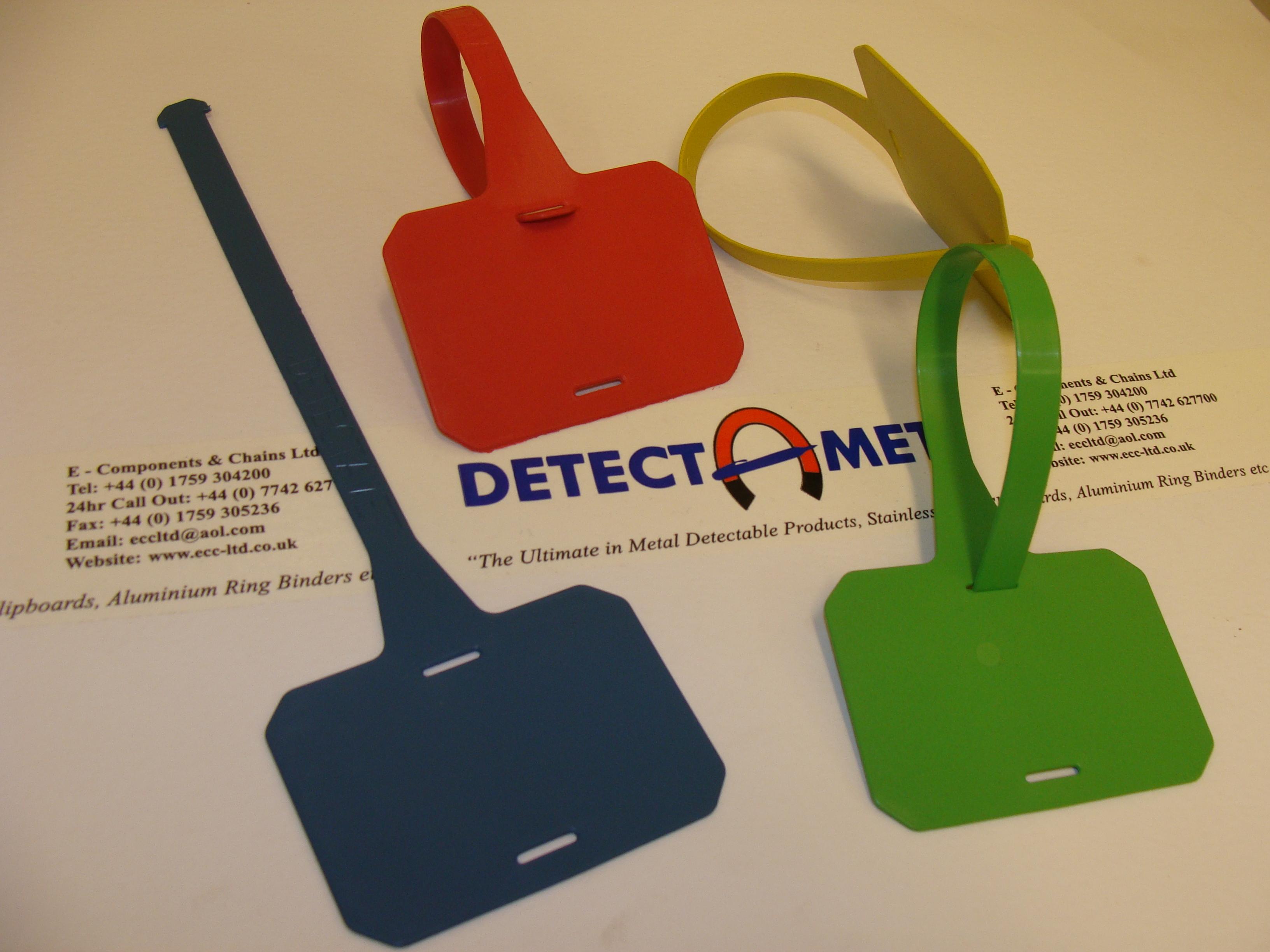 This Tag: Read **New** Metal Detectable Plastic Luggage Tag