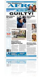 Baltimore Afro-American Newspaper, December 05, 2009