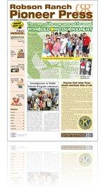 Robson Ranch Pioneer Press - July 2013