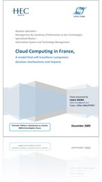 Cloud Computing in France - A model that will transform companies: decision mechanisms and impacts