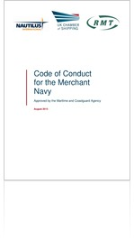 Code of Conduct for the Merchant Navy 2013