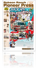 Robson Ranch Pioneer Press - August 2013