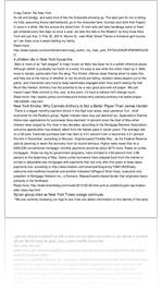 Craig Carton: My New York