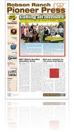 Robson Ranch Pioneer Press - September 2013