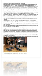 Aerobics And Weight Training Combined Lower Blood