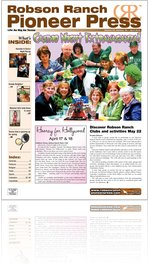 Robson Ranch Pioneer Press - April 2010