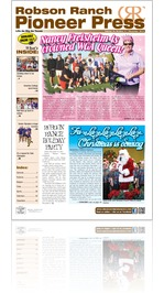 Robson Ranch Pioneer Press - November 2013