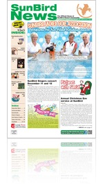 SunBird News - December 2013