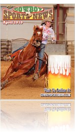 Cowboy Sports News Rodeo Magazine April 2010