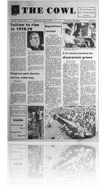 The Cowl - Vol XXXI - No. 4 - May 3, 1978