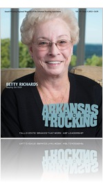Arkansas Trucking Report Issue 5 2013 -- Betty Richards