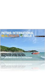 PATTAYA INTERNATIONAL REAL ESTATE MAGAZINE – Issue 01