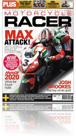 Motorcycle Racer August Issue