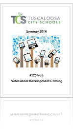 TCStech Summer 2014 PD Catalog